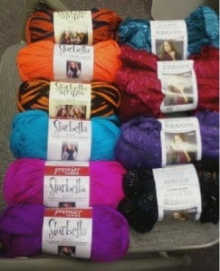 More Starbella/Ribbon Yarn