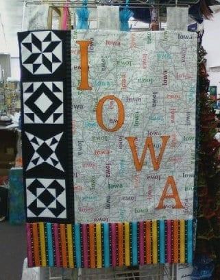 Iowa fabric