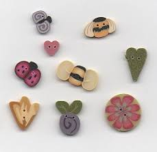 Buttons and Charms